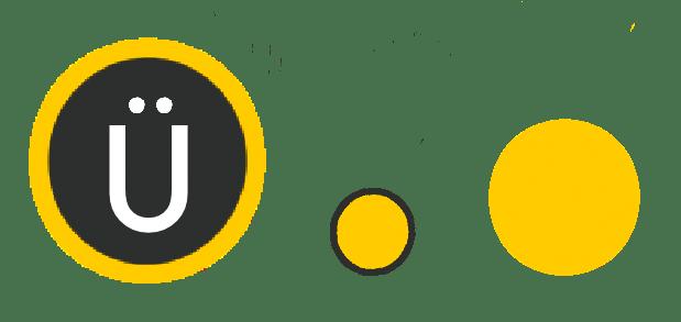 kreise in grau und gelb das Lachende Ü der Agentur wie am Schnürchen Saarbrücken