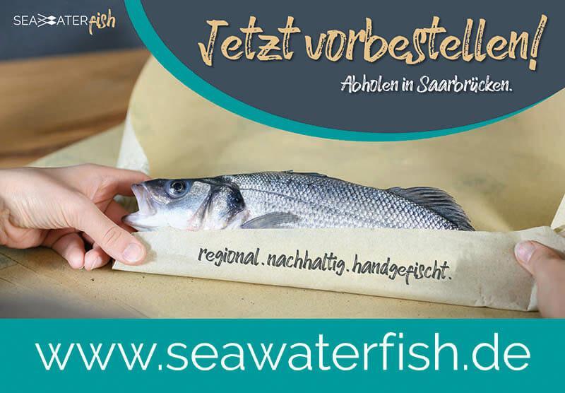Seawater Fish eingepackter Fisch