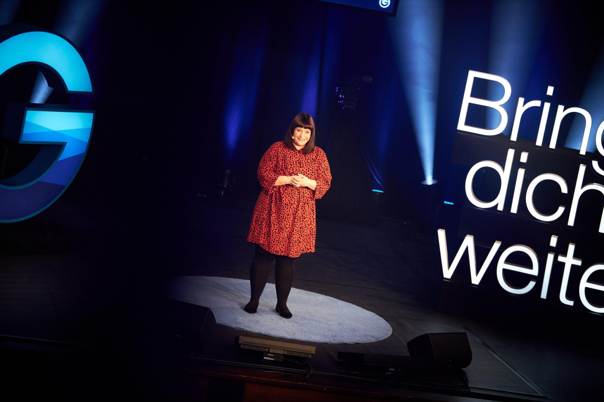Nadine Alles Berberich Gedankentanken Keynote vortrag Volksbühne